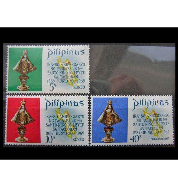 """Филиппины 1969 г. """"Статуя младенца Иисуса"""""""