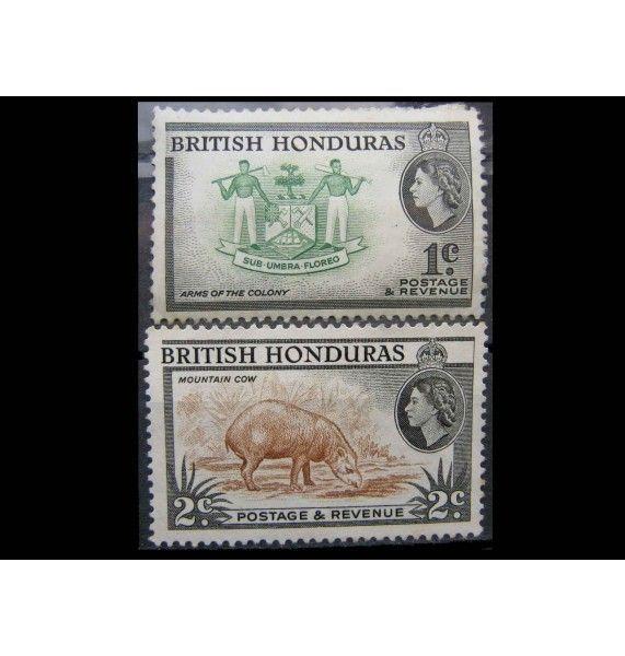 """Британский Гондурас 1953 г. """"Фотографии страны"""""""