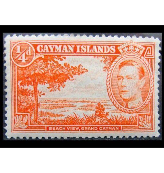 """Каймановы острова 1938 г. """"Король Георг VI, Национальные мотивы"""""""