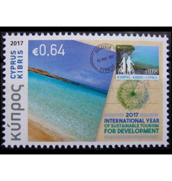 """Кипр 2017 г. """"Филателия и туризм"""""""