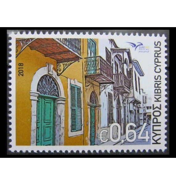 """Кипр 2018 г. """"Euromed Postal - Дома Средиземноморья"""""""
