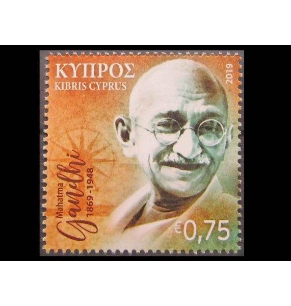 """Кипр 2019 г. """"150-летие со дня рождения Махатмы Ганди"""""""