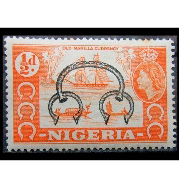 """Нигерия 1953 г. """"Национальные мотивы"""""""
