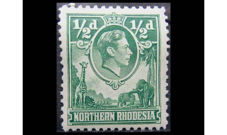 """Северная Родезия 1938 г. """"Король Георг VI"""""""