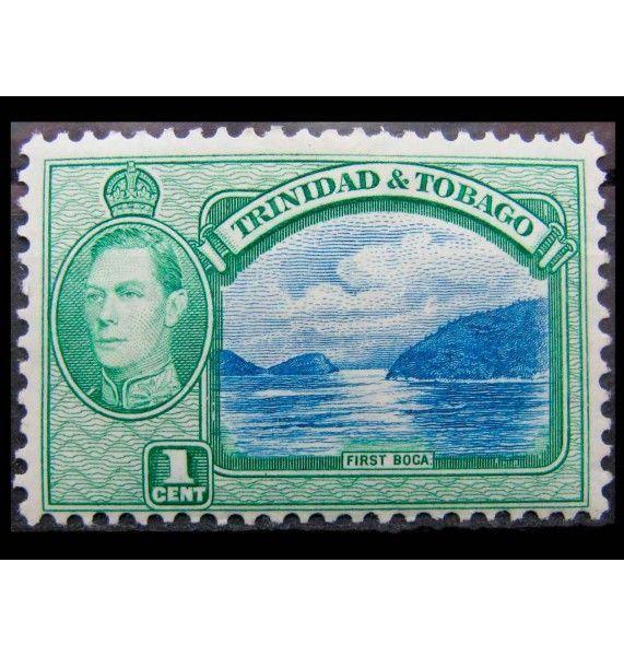 """Тринидад и Тобаго 1938 г. """"Король Георг VI, Ландшафты и здания"""""""