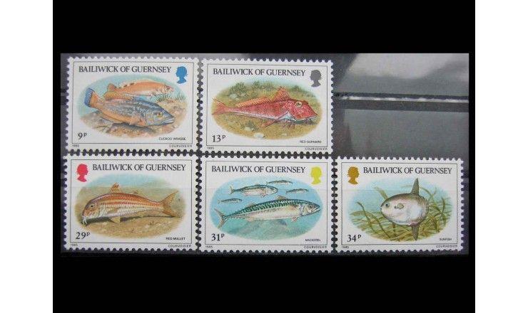"""Гернси 1985 г. """"Рыбы"""""""