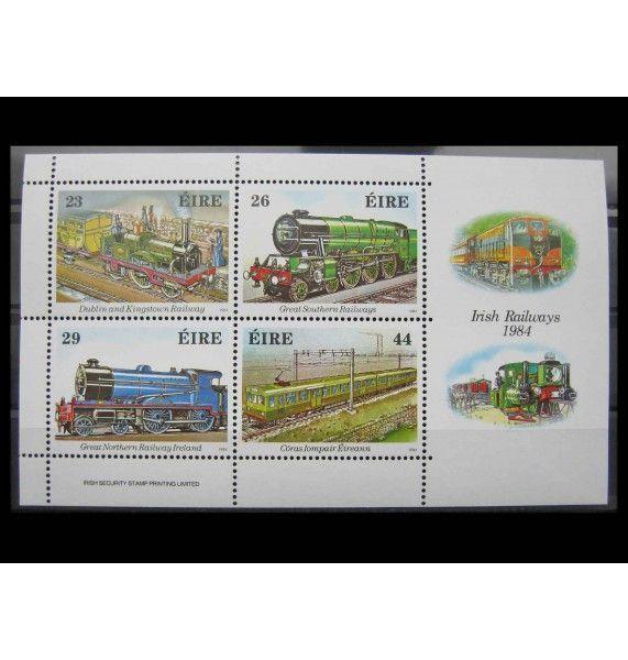 """Ирландия 1984 г. """"150-летие ирландской железной дороге"""""""