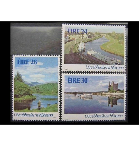 """Ирландия 1986 г. """"Водные пути в Ирландии"""""""