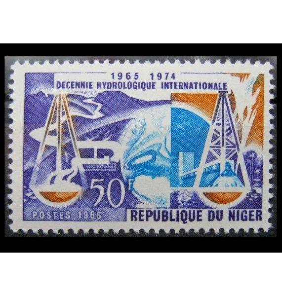"""Нигер 1966 г. """"Международное гидрологическое десятилетие"""""""