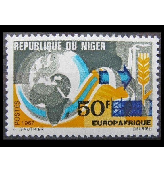 """Нигер 1967 г. """"Европейско-африканская экономическая организация Europafrique"""""""