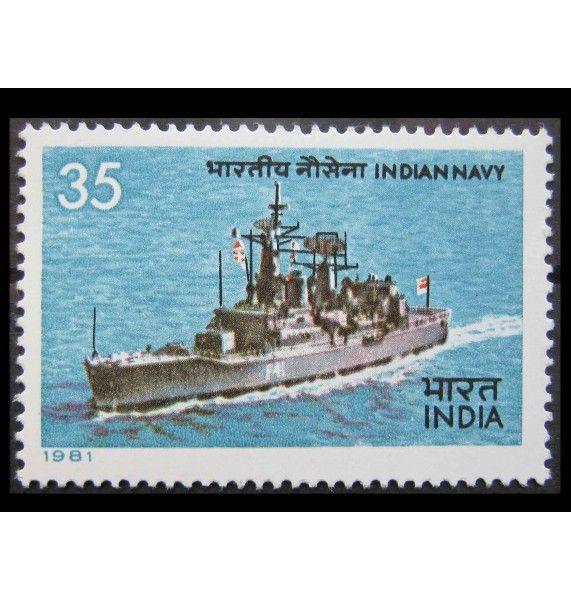 """Индия 1981 г. """"Индийский морской флот"""""""