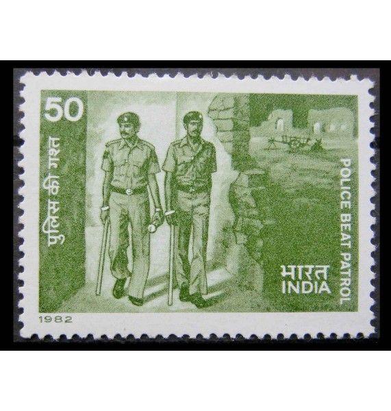 """Индия 1982 г. """"Полиция"""""""