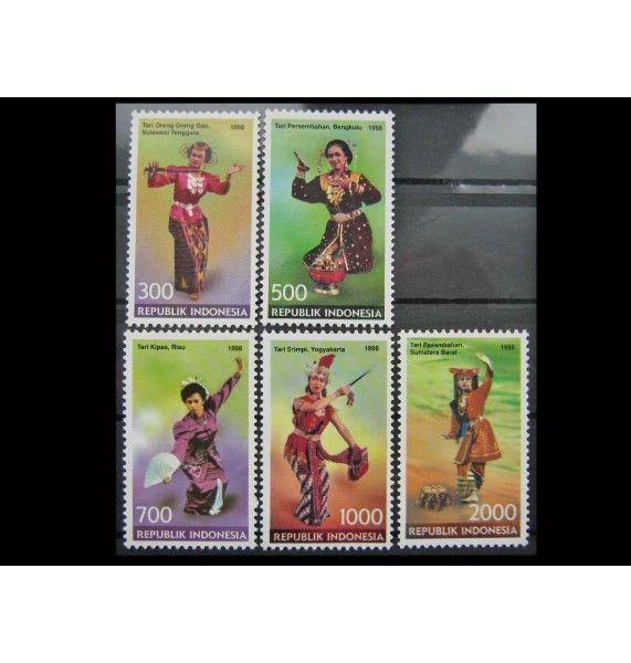 "Индонезия 1998 г. ""Танцы провинций"""