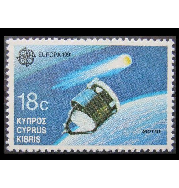 """Кипр 1991 г. """"Европа CEPT: Космическое путешествие"""""""