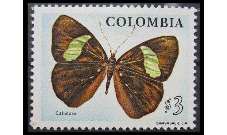 """Колумбия 1976 г. """"Фауна и флора"""""""