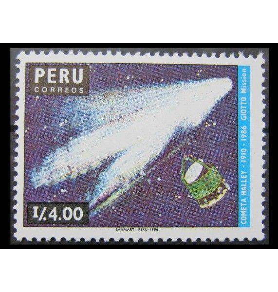 "Перу 1987 г. ""Комета Галлея"""