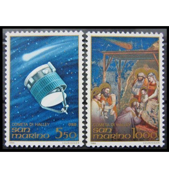 "Сан-Марино 1986 г. ""Комета Галлея"""