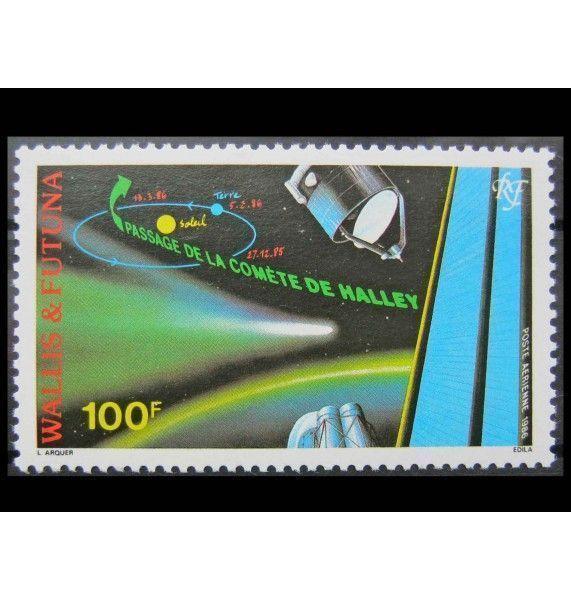 """Уоллис и Футуна 1986 г. """"Возвращение кометы Галлея"""""""