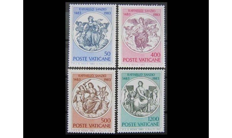 """Ватикан 1983 г. """"500-летие Рафаэля Санти"""""""