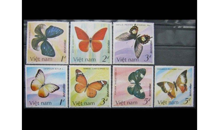 """Вьетнам 1987 г. """"Бабочки"""""""