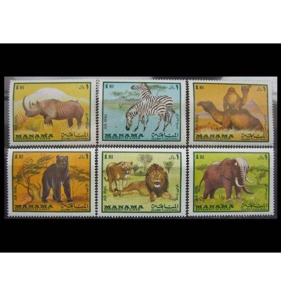 """Манама 1969 г. """"Млекопитающие"""""""