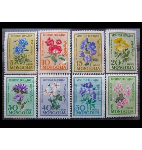 "Монголия 1960 г. ""Цветы"""