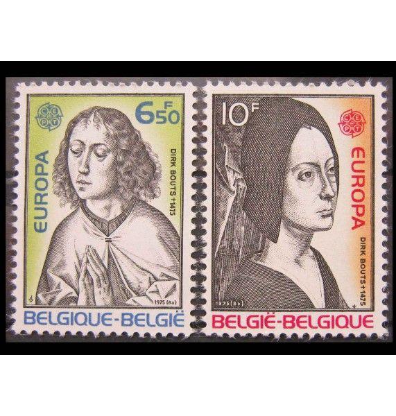 "Бельгия 1975 г. ""Европа: Картины"""