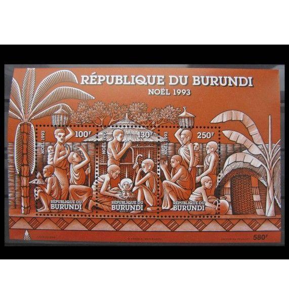"""Бурунди 1993 г. """"Рождество"""""""