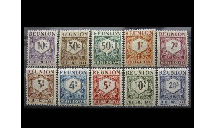 """Реюньон 1947 г. """"Цифры"""""""
