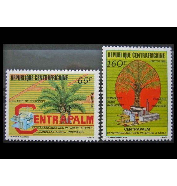 "ЦАР 1986 г. ""Переработка пальмового масла"""
