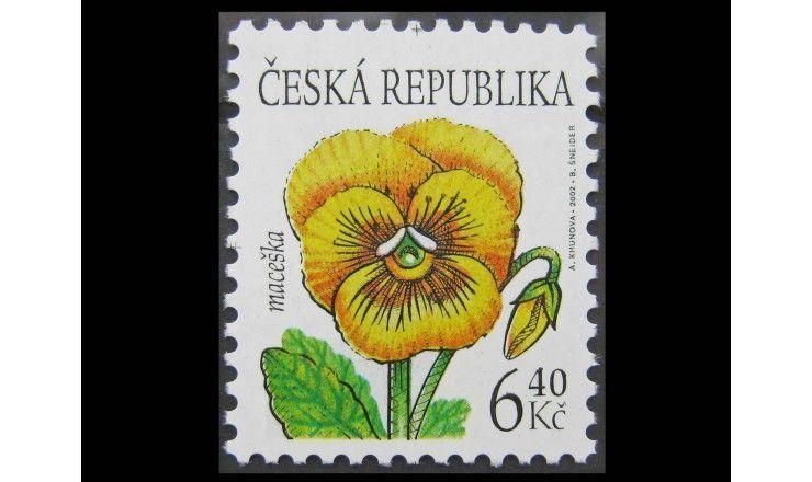 """Чехия 2002 г. """"Цветы"""""""