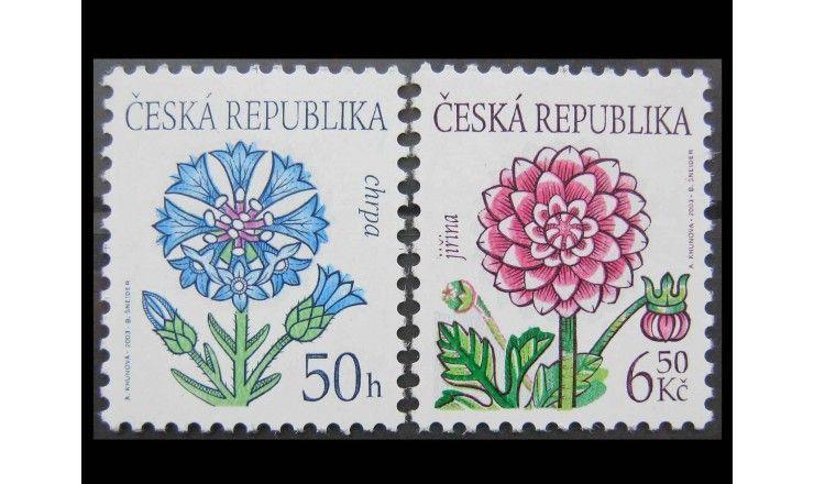 """Чехия 2003 г. """"Цветы"""""""