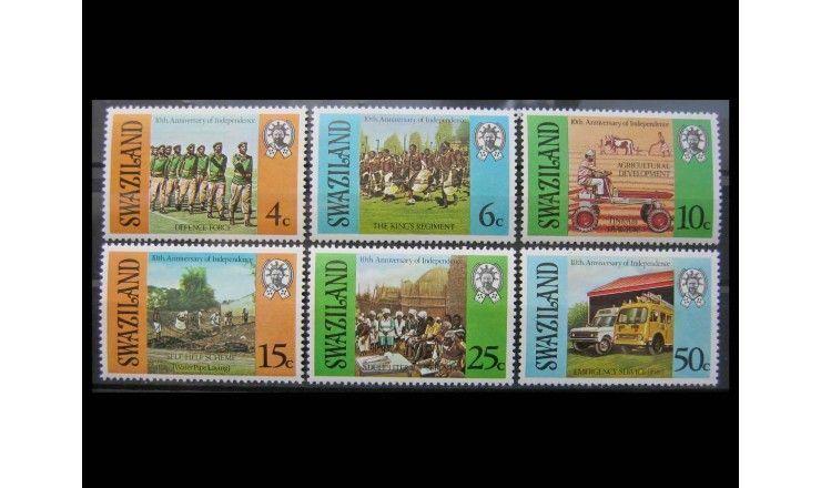 """Свазиленд 1978 г. """"10-летие независимости"""""""