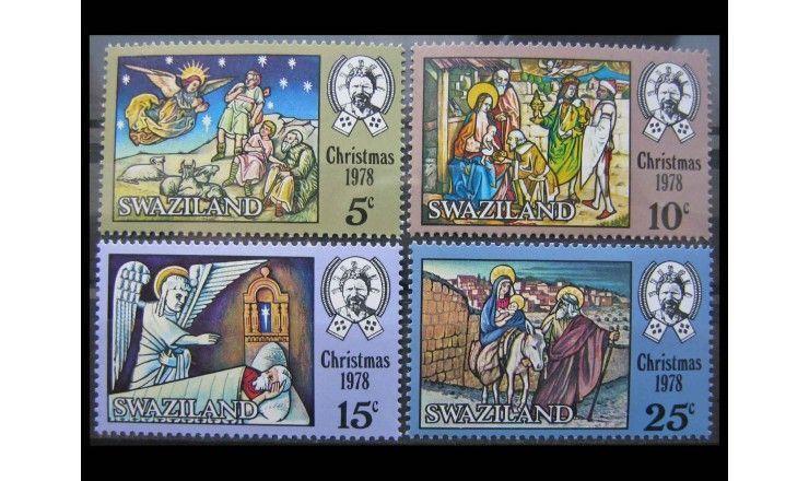 """Свазиленд 1978 г. """"Рождество"""""""