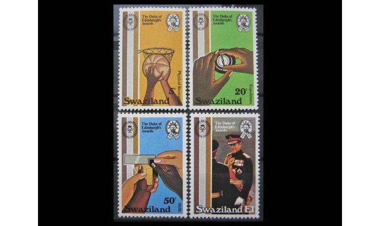 """Свазиленд 1981 г. """"25-летие премии Герцога Эдинбургского"""""""