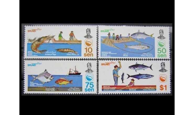 "Бруней 1983 г. ""Рыболовство"""