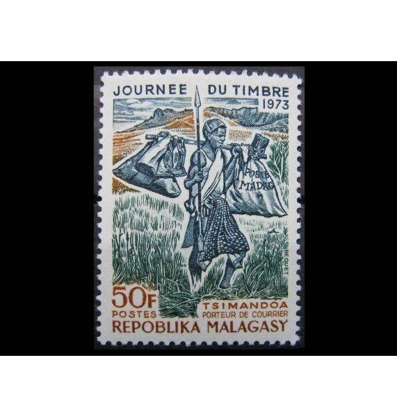 """Мадагаскар 1973 г. """"День почтовой марки"""""""