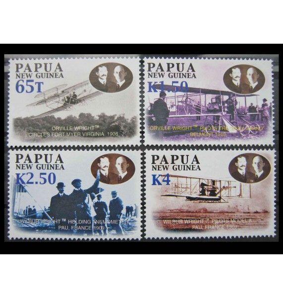 """Папуа-Новая Гвинея 2003 г. """"100 лет первого полета братьев Райт"""""""