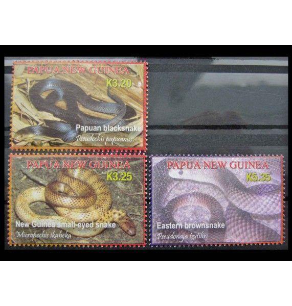 """Папуа-Новая Гвинея 2006 г. """"Ядовитые змеи"""""""