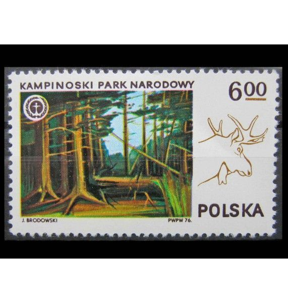 """Польша 1976 г. """"Польские национальные парки"""""""