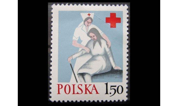 """Польша 1977 г. """"Польский Красный Крест"""""""