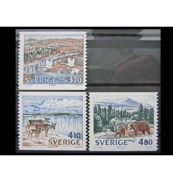 """Швеция 1990 г. """"Национальные парки"""""""