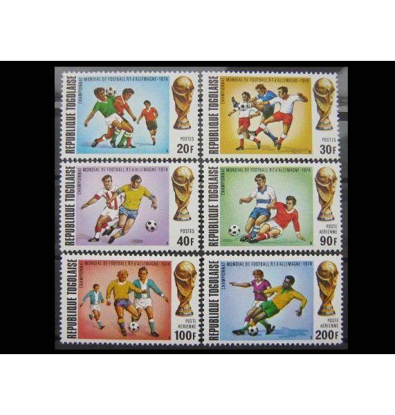 """Того 1974 г. """"Чемпионат мира по футболу, Германия"""""""