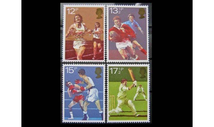 "Великобритания 1980 г. ""Спорт"""