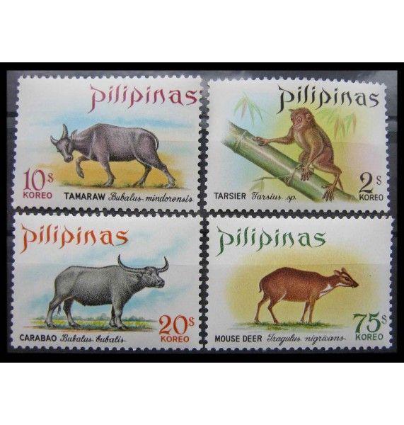 """Филиппины 1969 г. """"Местная фауна: Открытие охотничьего сезона"""""""