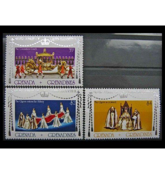 """Гренада и Гренадины 1977 г. """"25-летие регентства королевы Елизаветы II"""""""