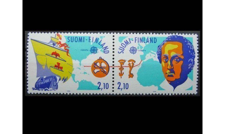 """Финляндия 1992 г. """"Европа: 500 лет открытия Америки"""""""