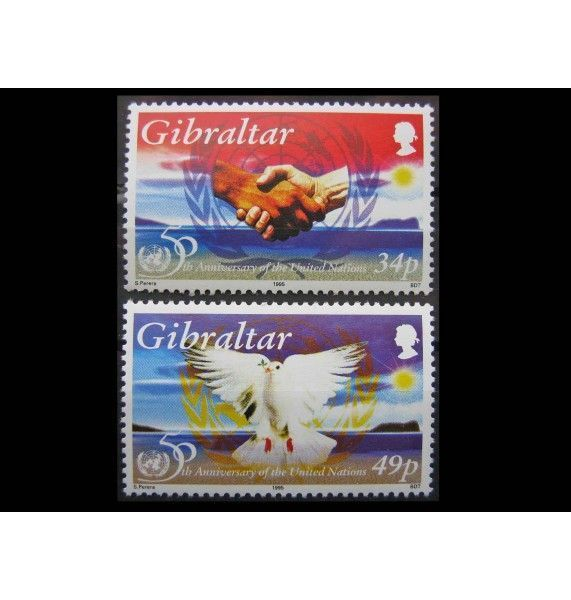 "Гибралтар 1995 г. ""50 лет ООН"""