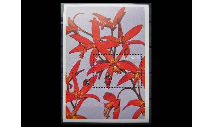 "Гренада 1997 г. ""Орхидеи"""