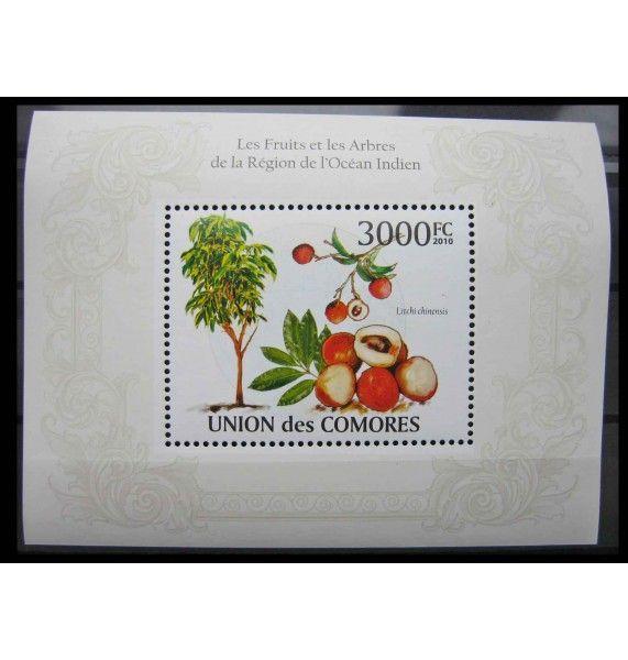 """Коморские острова 2009 г. """"Растения"""""""